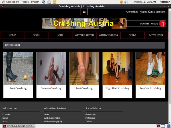 Crushing-austria.com Free Trial Offer