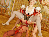 Femdom 3D female domination