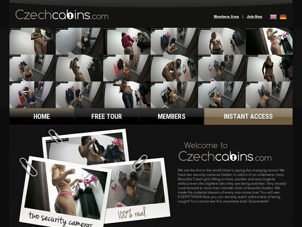 Join Czechcabins.com For Free