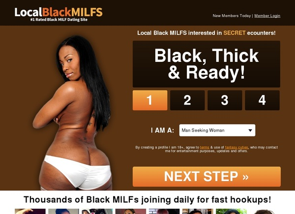 Local Black Milfs Limited Deal