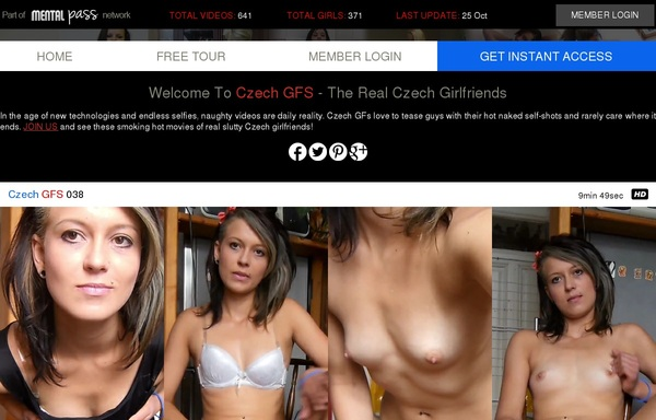 Signup For Czech GFS With Paypal