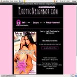 Eroticneighbor Discount (SAVE 63%)