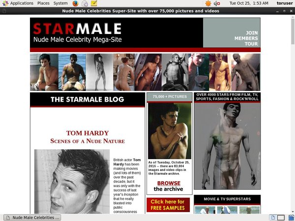 Starmale For Tablet