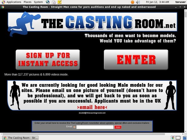 The Casting Room Payment Methods